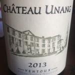 Chateau Unang Blanc 2013 AOC Ventoux