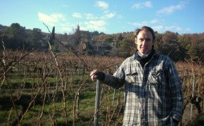 James in the vineyard