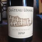 Chateau Unang Rouge 2010 AOC Ventoux