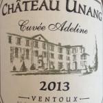 Chateau Unang Cuvée Adeline 2013