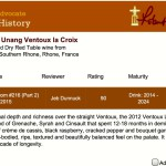 Jeb Dunnuck review of Chateau Unang La Croix 2012 Wine Advocate