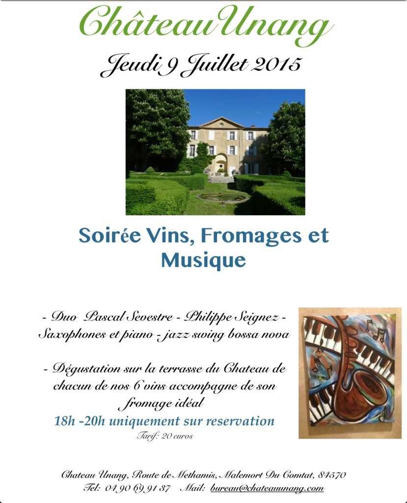 flyer soiree