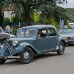 Wonderful Old Cars joining us for the start of the Portes Ouvertes
