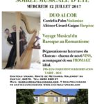 Soirées Musicales – Roll on the 12th of July