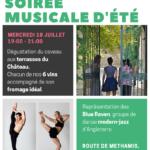La Soiree D'Eté 2018 -18th July – Le Jardin du Chateau