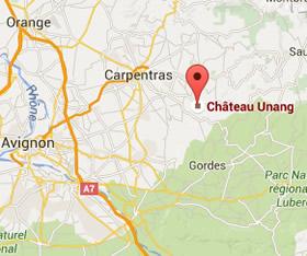 Château Unang location